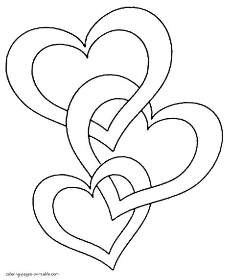 Hearts Coloring Pages To Print Clip Art Pinterest Printing Adult Coloring And Free Printables Coloring Book Printing