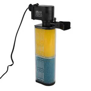 Styles Hidom Submersible Aquarium Internal Pump & Filter Filtration