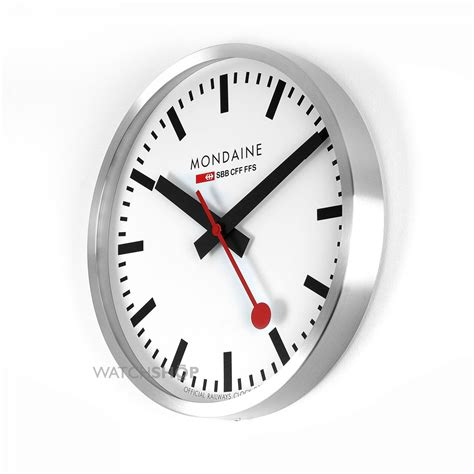 mondaine swiss railways large wall clock a995 clock