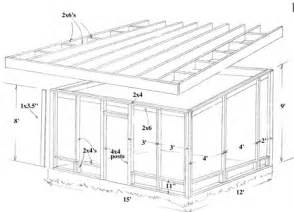 Porch Blueprints Screen Porch Details Studio Design Gallery Best Design