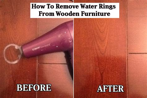 how to remove water stains from upholstery in car how to remove water rings from wooden furniture diy