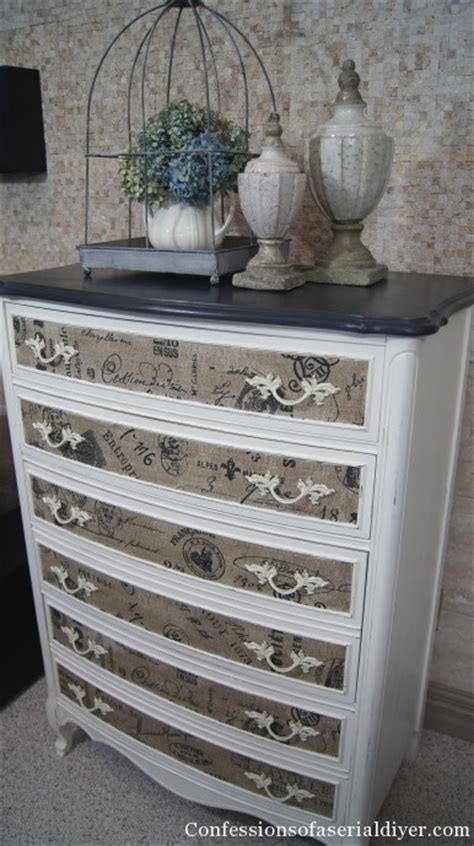 update a dresser 10 easy ways to update your home using fabric scraps