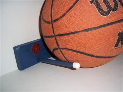 Basketball Holder Rack by Wood Storage Basketball Rack Holder Wall Garage Blue