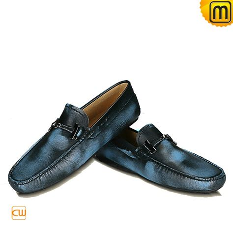 mens leather driving loafers mens designer leather driving loafers cw740031