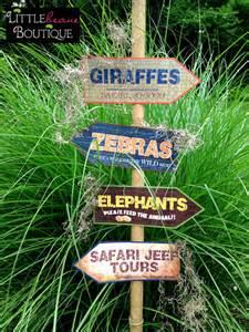 themed signs printable safari jungle signs diy safari signs jungle zoo banner safari