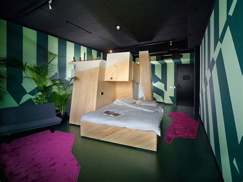 design milk hotel a one of a kind hotel room at volkshotel amsterdam