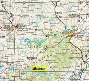maps branson mo