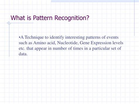 pattern recognition ppt ppt pattern recognition powerpoint presentation id 1140647