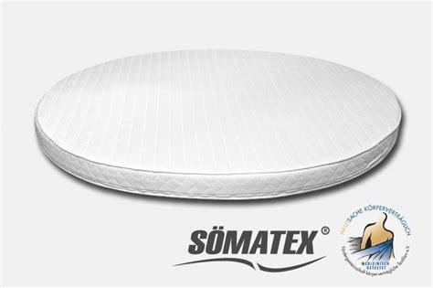 matratze rund runde matratze soematex basic 200 cm 220 cm 240 cm