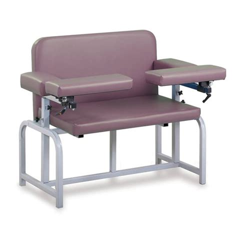 wide armchair extra wide bariatric phlebotomy chairs marketlab inc