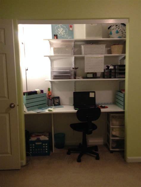 Desk In Closet by Kalynns Desk Built In Closet Kalynn Rm
