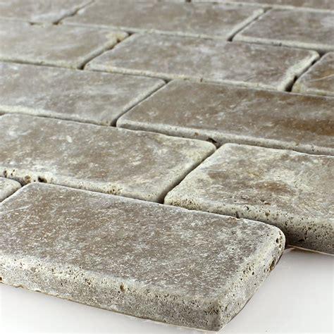 Fliese Travertin by Travertin Fliese Noce Brick Ebay