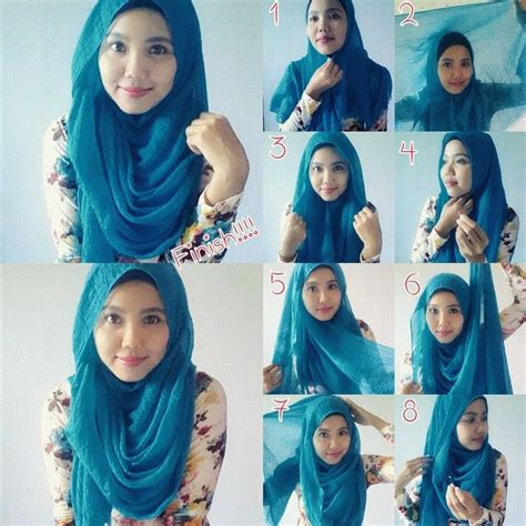 download video tutorial hijab simple 2015 4 gaya cara memakai jilbab segi empat model pashmina