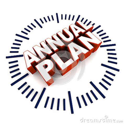 planning pic annual plan stock illustration image 46916252