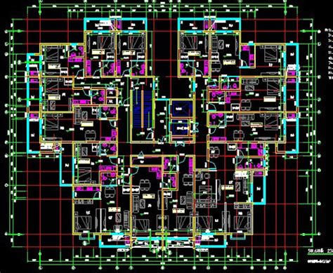 Shop Apartment Floor Plans small apartment high rise residential cad design free download
