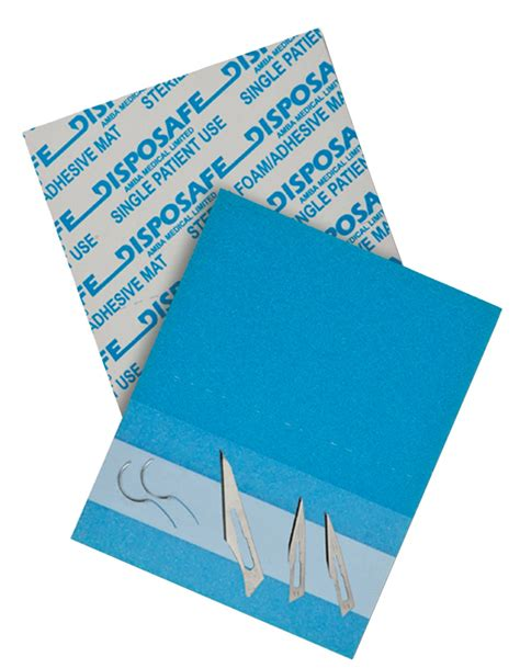 Needle Mat by Disposafe Needle Mat 145x120mm