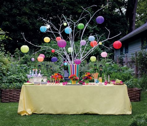 backyard party decor backyard party ideas with simple and full of party