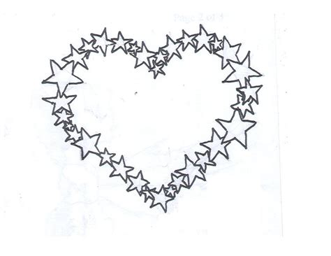 star heart tattoo designs bow swirl design by average sensation images