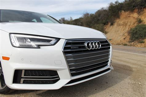 audi a4 white 2017 2017 audi a4 first drive pictures specs performance