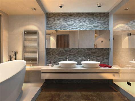 wandfliesen steinoptik bad moderne wandgestaltung im bad 30 ideen und beispiele
