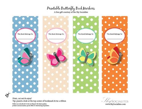 printable butterfly bookmarks 125 best images about bookmarks on pinterest heart