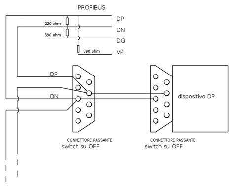 terminating resistor in profibus mistero collegamento profibus il forum di electroyou