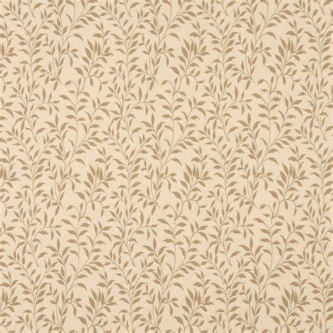 Upholstery Fabric Maryland by F411 Beige And Floral Matelasse Reversible Upholstery