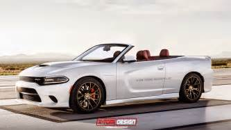dodge charger srt hellcat convertible imagined gtspirit