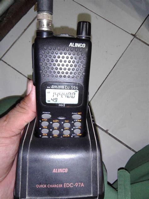 Baterai Alinco Dj 195196495596 dijual alinco dj 596 dobel band swaradio