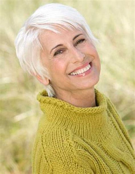 hairstyles thin fine grey hair 20 best short haircuts for older ladies short hairstyles