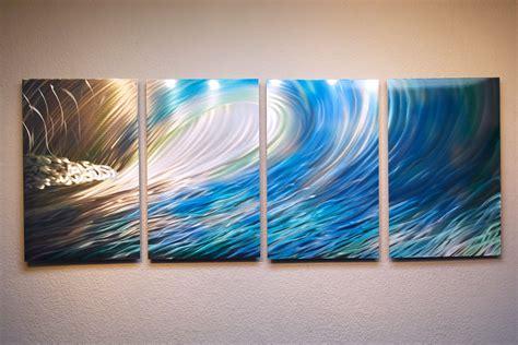 Metal Wave Wall