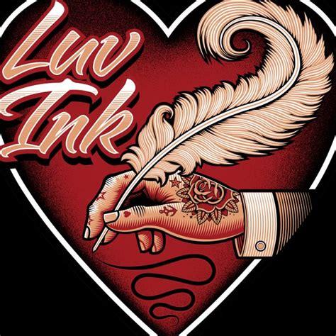 p tattoo logo luv ink tattoo studio logo hire an illustrator