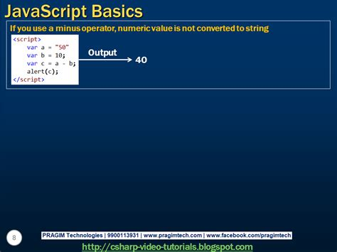 tutorial javascript in html sql server net and c video tutorial javascript basics