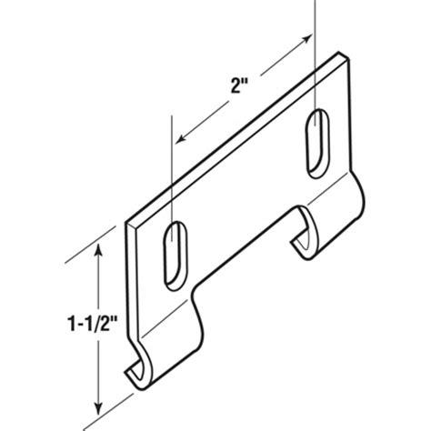 swinging shower door parts shower door bottom hook guide product