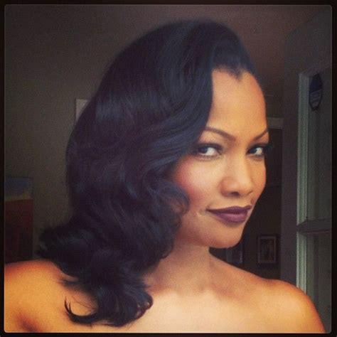 hollywood weave hairstyle 221 best beauty celebrity garcelle beauvais images on