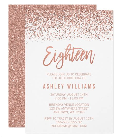 13 18th Birthday Invitation Designs Templates Psd Ai Free Premium Templates 18th Birthday Invitation Templates