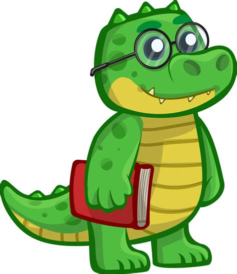 Free Images Clip clipart crocodile pencil and in color clipart