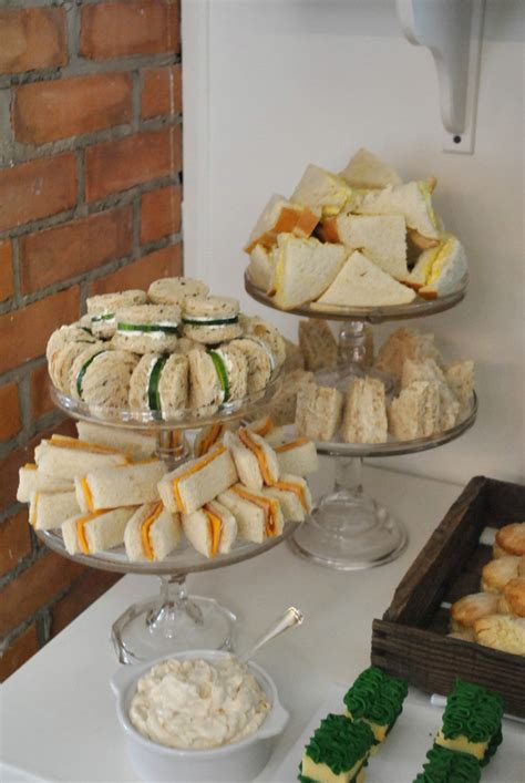 Tea Sandwiches For Baby Shower by The Grower S A Rabbit Themed Baby Shower