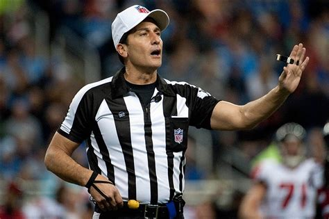 Nfl Ref Meme - nfl referee gene steratore may have had longest penalty