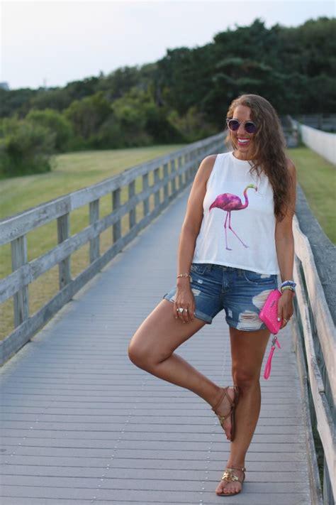 Sandal Flat An11 flamingo tank saltwater and stilettos