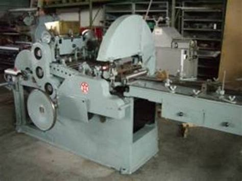 Paper Bags Machine - w h matador 31 flat satchel paper bag machine bohemia