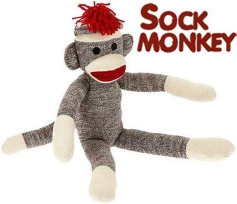 sock monkeys by stuffed animal sock monkeys on sale