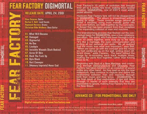 Disc 50 The Smasher fear factory