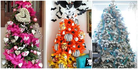collection of christmas tree decorations history