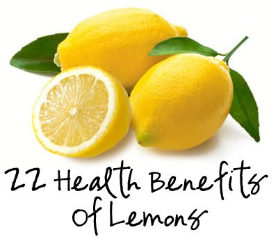 health benefits  lemons  good   jillee