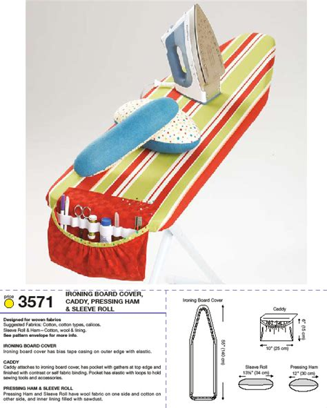 ironing board pattern on clothes kwik sew 3571 ironing board cover