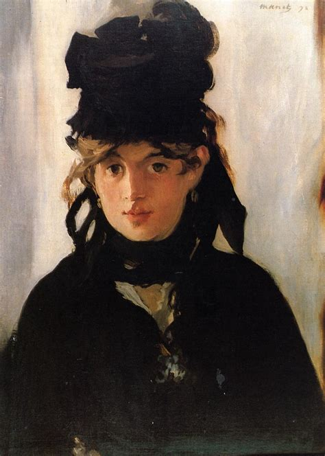 manet his life and 0754828948 berthe morisot with a bouquet of violets 1872 edouard manet wikiart org