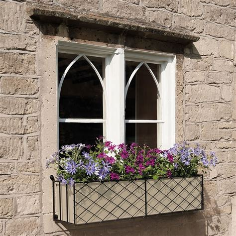 Window Box Planters by Window Boxes Metal Window Box Displays