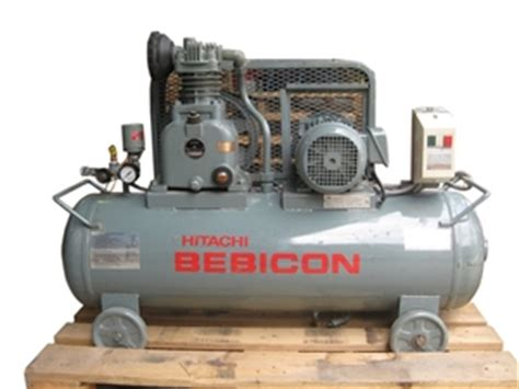 hitachi bebicon single cylinder air compressor auction 0024 7003359 graysonline australia
