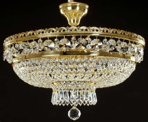 swarovski ceiling light fixtures crystal chandelier ceiling mount with 6 lights gold